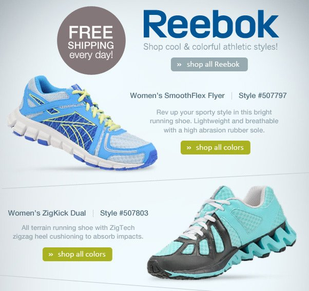 Tone Up Right With Reebok!