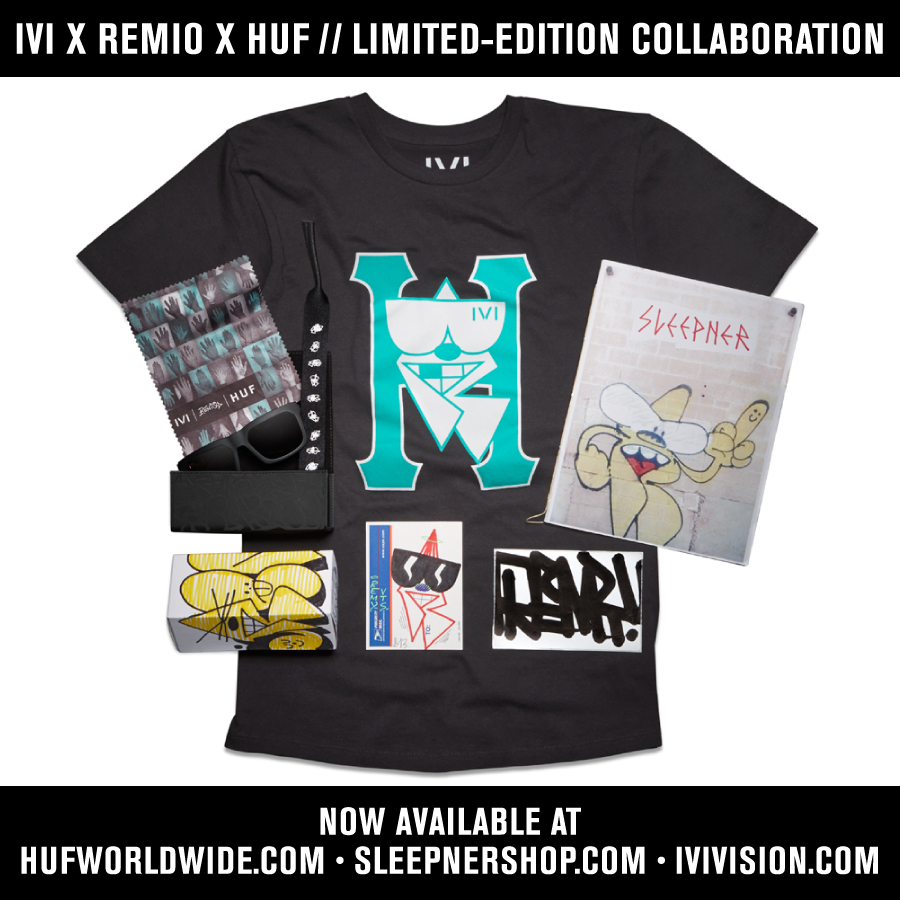 IVI X REMIO X HUF COLLABORATION // NOW AVAILABLE