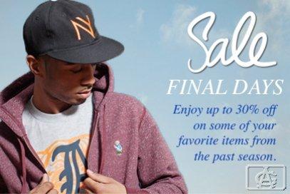 Final Days Sale