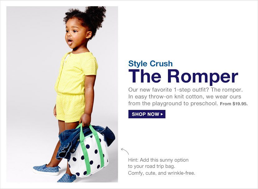 Style Crush   The Romper   SHOP NOW