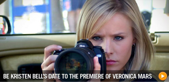 Be Kristen Bell's Date to the Premiere of Veronica Mars