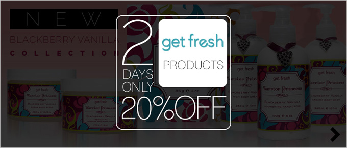 2 Days Only 20% Off Get Fresh Products