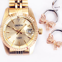 Diamond Jewelry & Watches for Her Clearance