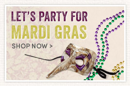 Let's Party for Mardi Gras