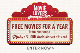 Enter to win Free Movie Tickets for a Year!