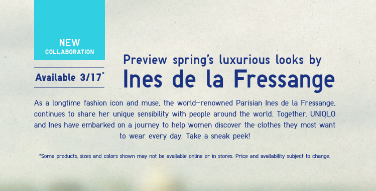 Preview spring's luxurious looks by Ines de la Fressange