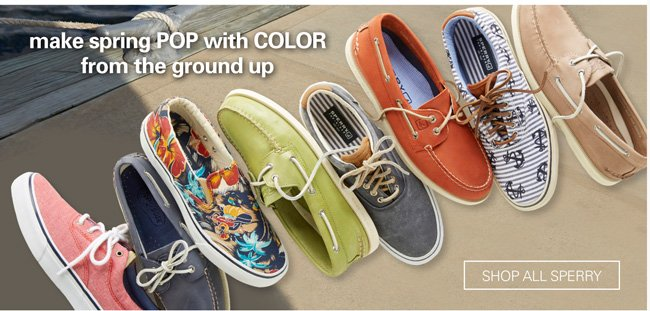 SHOP ALL SPERRY