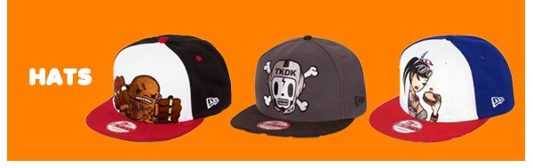 tokidoki Hats - 50% off select items