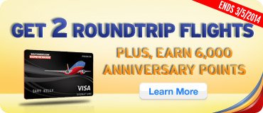 Get 2 Roundtrip Flights!