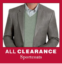Clearance Sportcoats - EXTRA 40% OFF