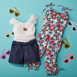 Set for Fun: Bright Rompers