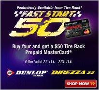 Dunlop Fast Start 50