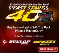 Dunlop Fast Start 40
