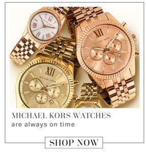 Michael Kors Watches. Shop Now.
