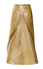 Laminated Dove Skirt
