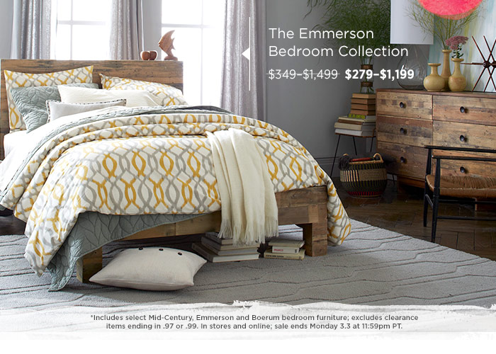 The Emmerson Bedroom Collection.