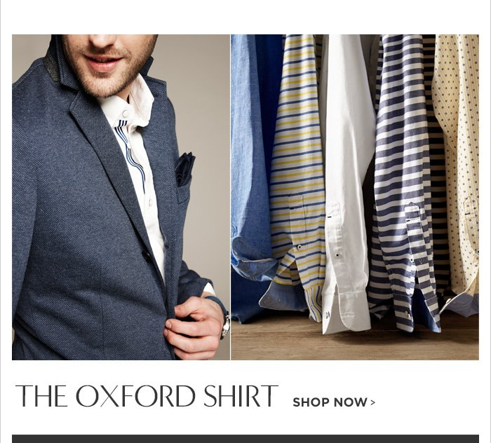 THE OXFORD SHIRT SHOP NOW