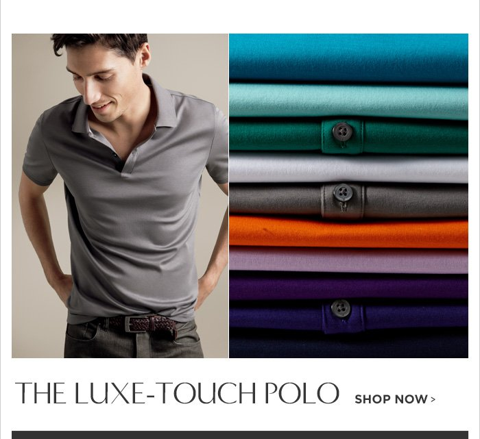 THE LUXE-TOUCH POLO