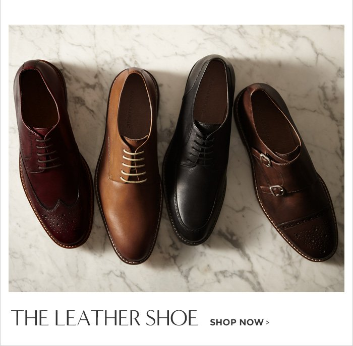THE LEATHER SHOE SHOP NOW