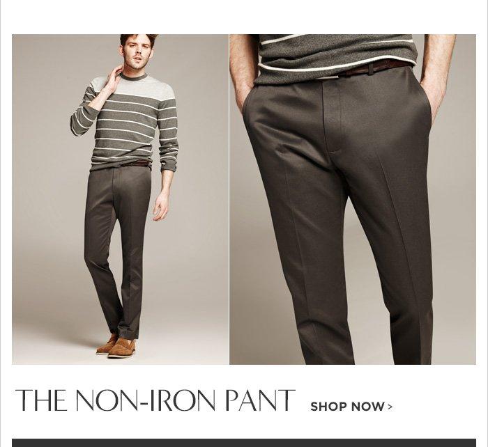 THE NON-IRON PANT SHOP NOW