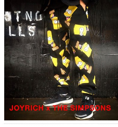 Joyrich x The Simpsons