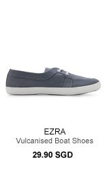 Vulcanised Boat Shoes 29.90SGD