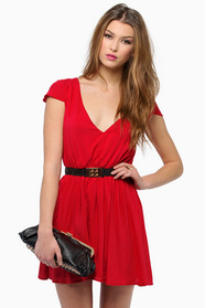 Getaway V Neck Dress 39
