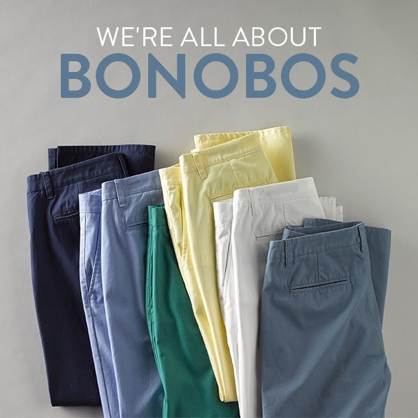 WE'RE ALL ABOUT BONOBOS