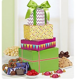Birthday Presents Sweets Tower Shop Now