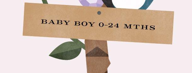 BABY BOY 0-24 MTHS