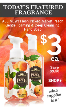 Peach Hand Soap – $3