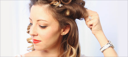 How-To: Old Hollywood Glam Step 3