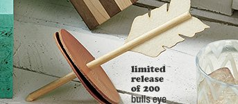 limited release of 200 bulls eyes coaster  set 39.95