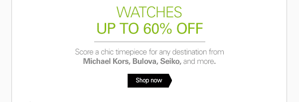 Score a chic timepiece for any destination - Shop now