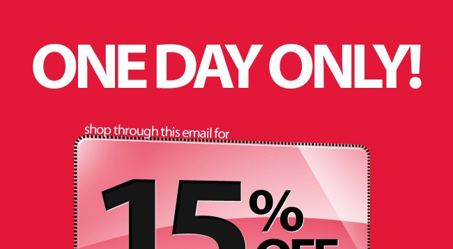 Goodbye February - 15% Off All Orders* Today Only - Shop Now