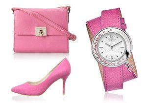 Rosy Outlook: Shoes, Bags & More