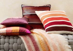 Colorful Comfort: Pillows & Throws