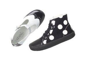 Black & White: Kids' Shoes