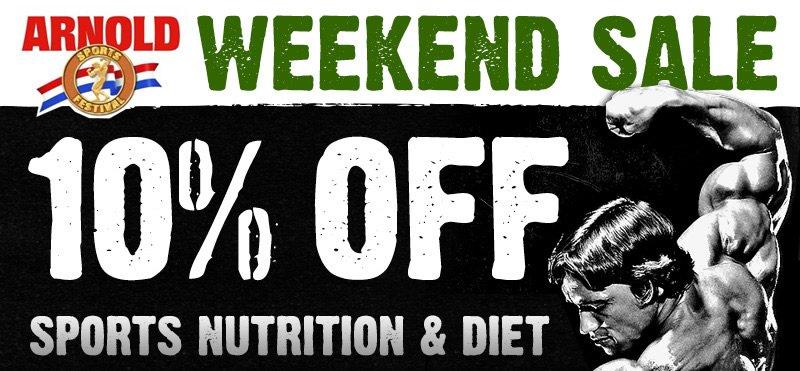 Arnold Weekend Sale