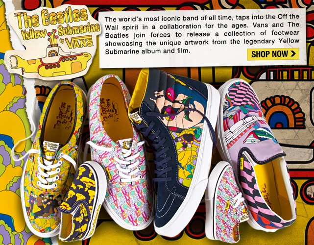 Shop the New Beatles Yellow Submarine Collection!