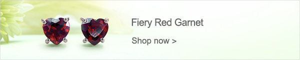 Fiery Red Garnet