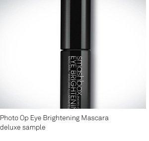 Deluxe Sample Photo Op Mascara