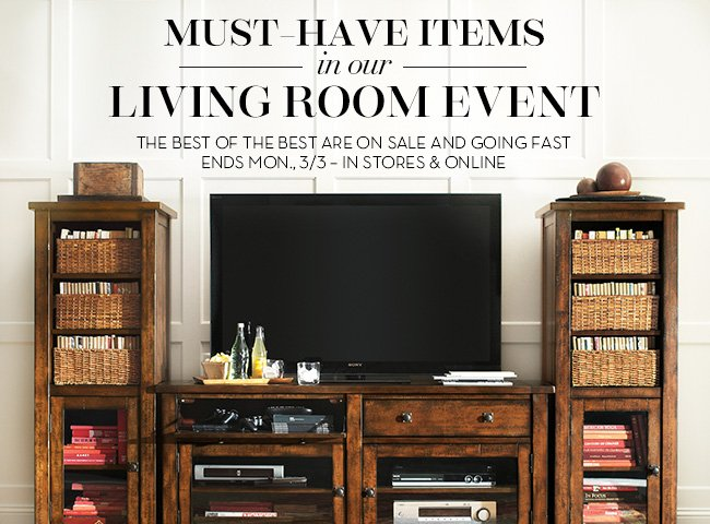 LIVING ROOM EVENT