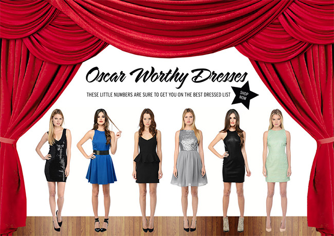 Oscar worthy dresses