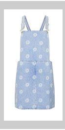 MOTO Daisy Print Pini Dress