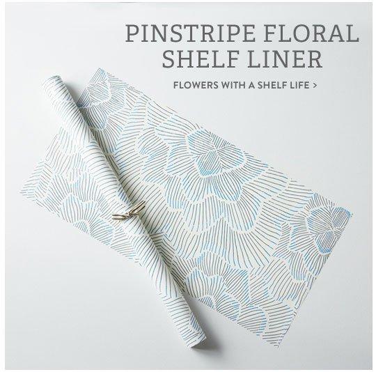 Floral Shelf Liner