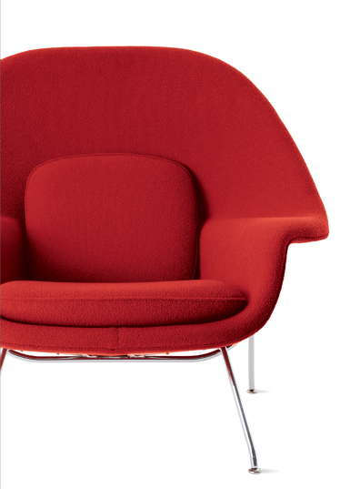 WOMB™ CHAIR (1946) Designed by Eero Saarinen for Knoll IN STOCK