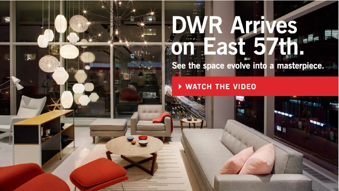 DWR Arrives on East 57th. See the space evolve into a masterpiece. WATCH THE VIDEO