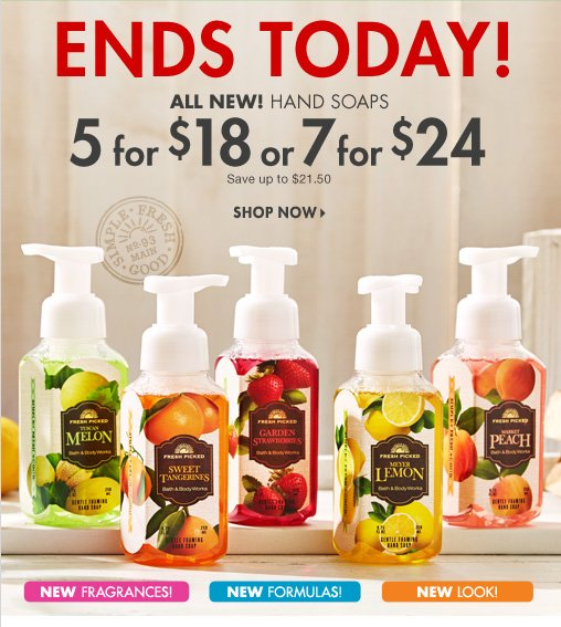 Hand Soap – 5 for $18