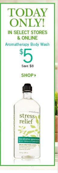 Aromatherapy Body Wash – $5